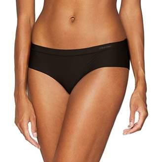 Calvin Klein Women's's Hipster Black 001, 8 (Size: X-Small)