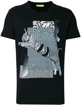 Versace logo printed T-shirt - men - Cotton - S