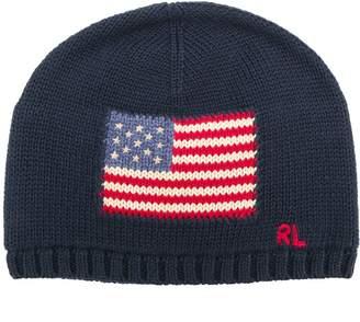 Ralph Lauren Kids USA knitted hat
