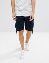 Abercrombie & Fitch Cargo Short In Navy