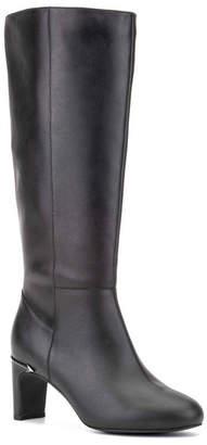 OLIVIA MILLER Rebel Wilson Narrow Calf Width Knee High Boots Women Shoes
