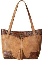 American West Guns and Roses Secret Tote Tote Handbags