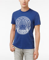 True Religion Men's Cotton Sunburst-Logo T-Shirt