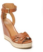 Tommy Hilfiger Final Sale-Crisscross Ankle Strap Wedge