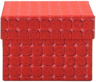 Medium Domus Rosso Box