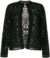 M Missoni - lace detail cardigan