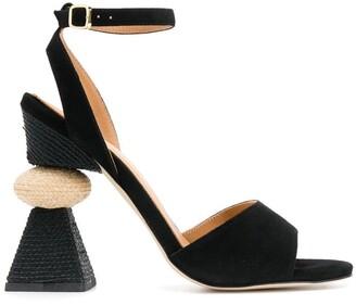 Paloma Barceló Suede Sandals