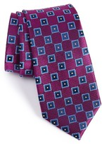 Nordstrom Men's Net Grid Silk Tie