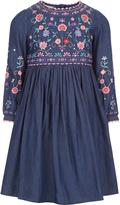 Monsoon Aurelia Embroidered Dress