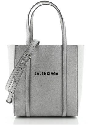 Balenciaga Everyday Tote Glitter Leather XXS