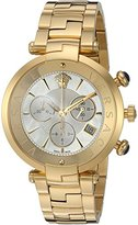 Versace Women's 'REVE' Swiss Quartz Stainless Steel Casual Watch, Color:Gold-Toned (Model: VAJ060016)