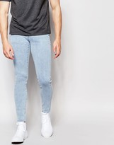 Dr. Denim Jeans Dixy Extreme Super Skinny 80s Stone Wash