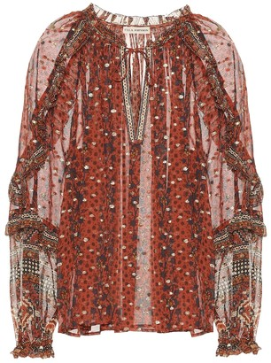 Ulla Johnson Calista fil coupe blouse