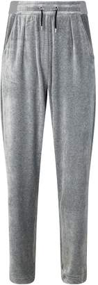 Balmain Oversized Velvet Sweatpants
