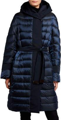 Max Mara Urbani Reversible Down Self-Tie Coat
