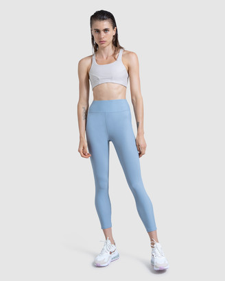 First Base - Women's Blue 7/8 Tights - Go the Distance 7-8 length legging - Size One Size at The Iconic