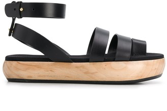 Neous Caged Sandals