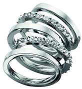 Fiorelli Costume Collection R2691 52 Ladies 5 band ring - Small