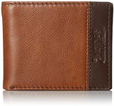 Levi's Men's 100% Elevated Leather Extra Capacity Slimfold Wallet