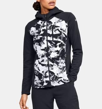 Under Armour Women's ColdGear Reactor Hybrid Lite Print Jacket