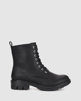 Verali - Women's Lace Up Ankle Boots - Narita - Size One Size, 37 at The Iconic