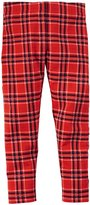 Carter's Plaid Leggings (Baby) - Red/Black/White-24 Months