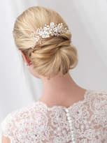 Etsy Floral Bridal Hair Comb, Flower Side Comb, Pearl Hair Comb, Crystal Hair Comb, Wedding Hair Comb, Rh