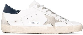 Golden Goose Superstar distressed-effect sneakers
