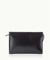 GiGi New York Saint Germain Clutch French Calfskin Leather