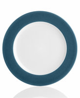 "Noritake Colorwave Blue Rim"" Dinner Plate"