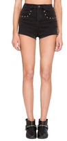 Amuse Society Women's Rhea Studded High Waist Shorts