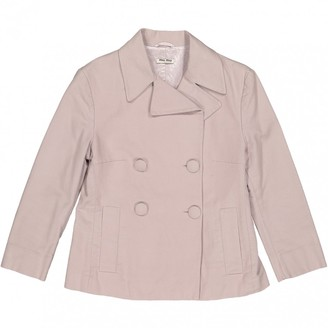 Miu Miu Purple Cotton Jacket for Women