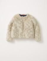 Boden Faux Fur Coat