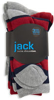 Jack & Jill 3 Pack Fashion Crew Socks