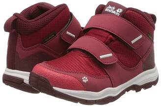 Jack Wolfskin Kids Mountain Attack 3 Texapore Mid VC (Toddler/Little Kid/Big Kid) (Red/Dark Red) Girl's Shoes