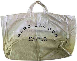 Marc by Marc Jacobs Green Cotton Handbags