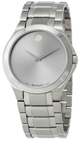 Movado Collection Silver Dial Mens Watch, 40mm