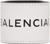 Balenciaga White Cycle Logo Bracelet