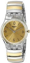 Swatch Women's LK351B Analog Display Quartz Two Tone Watch