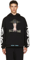 Off-White Black woman Movie Over Hoodie