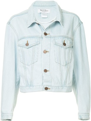 we11done Buttoned Denim Jacket