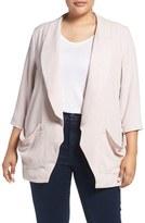 Melissa McCarthy Plus Size Women's Relaxed Blazer