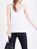 Theory Scarsdale sleeveless cotton-blend top