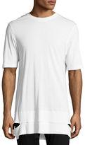 Helmut Lang Cut-Hem Long-Line T-Shirt
