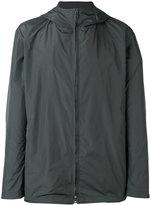 Jil Sander zipped hooded jacket