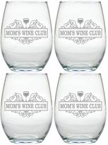 Mom's Wine Club Tumblers (Set of 4)