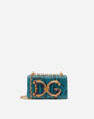 Dolce & Gabbana Python Girls Phone Bag