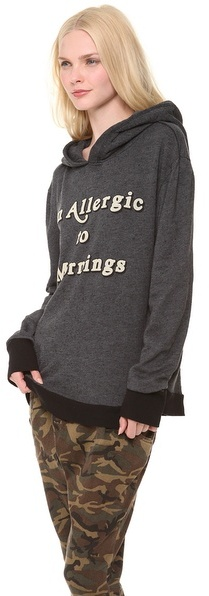 Wildfox Couture Morning Allergies Hoodie