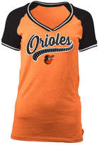 5th & Ocean Women's Baltimore Orioles Rhinestone Night T-Shirt