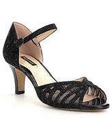 Alex Marie Maryssa Jeweled Mary Jane d'Orsay Dress Sandals